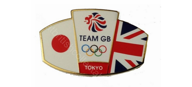 Team GB Friendship Flag Pin