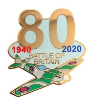 RAF Red Arrows 50th Display Season Logo Pin