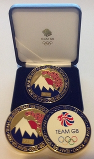 Team GB Tokyo 2020 Olympic Coin