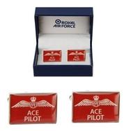 RAF Ace Pilot Cufflinks