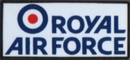Official Royal Air Force Logo Pin
