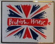 British House Rio 2016 Pin