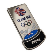 Official Team GB PyeongChang Korean Writing Winter Pin