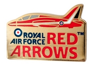 Red Arrows 50th Season Core Pin