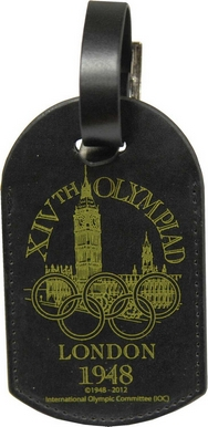 London 1948 Logo Luggage Tag