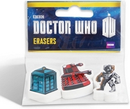 Doctor Who Erasers