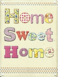 Home Sweet Home - Metal Wall Sign