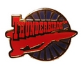 Thunderbird Three Roundel Pin