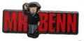 Mr Benn Logo Pin