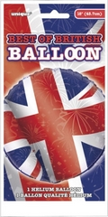 Union Jack Helium Balloon