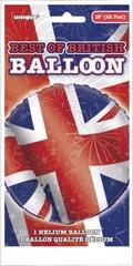 Union Jack Helium Balloon