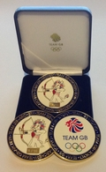 Team GB Archery Coin
