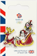 Team GB Pride Limited Edition Christmas Olympic Pin