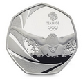 Team GB 2016 Royal Mint Silver Proof 50p Coin
