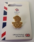 Officially Licensed Team GB Lions Head Pin