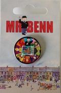 Mr Benn 50th Anniversary Logo Pin