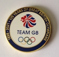 Team GB Olympic 125 Years Coin