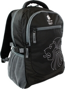 Team GB Lions Head Backpack - Black