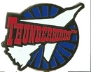 Thunderbird One Roundel Pin