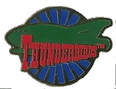 Thunderbird Two Roundel Pin