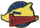 Thunderbird Four Roundel Pin