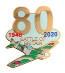 Battle Of Britain 80th Anniversary Pin