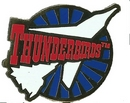 Official Thunderbirds Roundel Pins - Pack Of 6 Pins