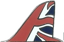 Official RAF Red Arrows Tail Fin Limited Edition Pin