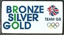 Team GB Rio Bronze Silver Gold Pin