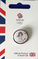Team GB Pride Golf Limited Olympic Pictogram Pin