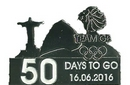 Official Team GB 50 Days To Go Olympic Pin