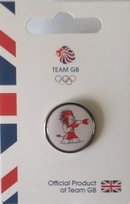 Official Team GB Pride Mascot Boxing Pin