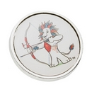 Official Team GB Pride Mascot Archery Pin