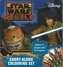 Star Wars Rebels Colouring Set