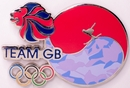 Official Team GB PyeongChang Flag Pin