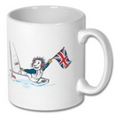 Team GB Mascot Sailing Mug