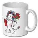Team GB Pride Mascot Valentines Mug