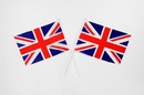 Union Jack Hand Held Flags (Pack of 50)