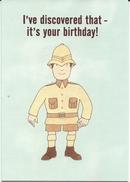 Mr Benn Hunter Birthday Card