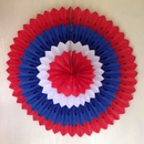 Red White And Blue Garland pack