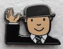 Mr Benn Bowler Hat Pin