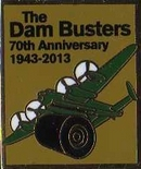 Official Dambusters Lancaster Bomber Pin