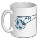 Official Pan Am Wings Logo Mug