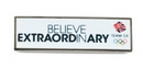 Believe In Extraordinary - Team GB Pin