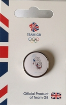 Team GB Pride Mascot - Diving Pictogram Pin